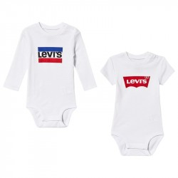 2 Pack of White Branded Bodies24 Months