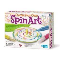 4M malesæt - Mal dit eget snurre-kunst