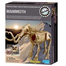 4M mammut-skelet