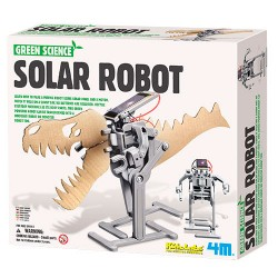 4M soldrevet robot - Green Science