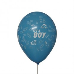 6 Balloner til Babyshower Its a Boy