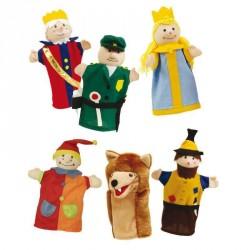6 Dukker til dukketeater hos Babytoys.dk