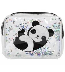 A Little Lovely Company Toilettaske - Glitter - Panda