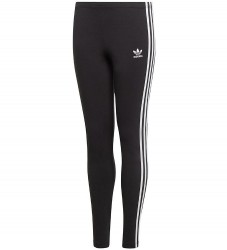 adidas Originals Leggings - 3Stripes - Sort