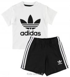 adidas Originals Shortssæt - Hvid/Sort