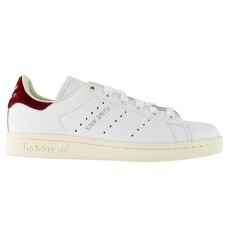 adidas Originals Sko - Stan Smith - Hvid m. Bordeaux