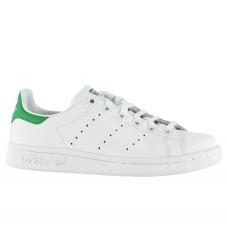 adidas Originals Sko - Stan Smith - Hvid/Grøn m. Snøre
