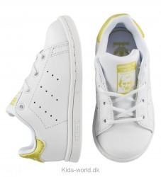 adidas Originals Sko - Stan Smith - Hvid/Guld