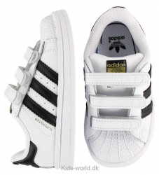 adidas Originals Sko - Superstar CF I - Hvid/Sort