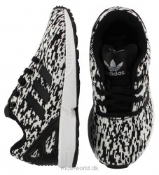 adidas Originals Sko - ZX Flux -Sort/Hvid