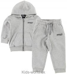 adidas Originals Sweatsæt - Kaval - Gråmeleret
