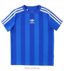 adidas Originals T-shirt - Blåstribet