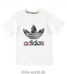adidas Originals T-shirt - Zoo - Hvid m. Logo