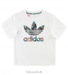 adidas Originals T-shirt - Zoo - Hvid m. Multiprint