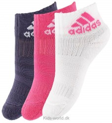 adidas Performance Strømper - 3-pak - Lilla/Pink/Hvid m. Logo