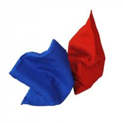 Ærteposer 2 stk. rød og blå