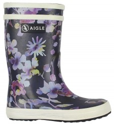 Aigle Gummistøvler - Lolly Pop - Dark Flower