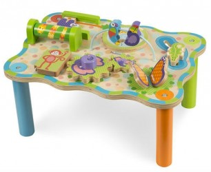 Aktivitetsbord fra Melissa & Doug - Jungle Activity Table