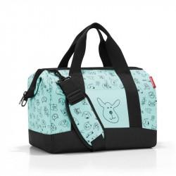 Allrounder taske med katte og hunde Mint