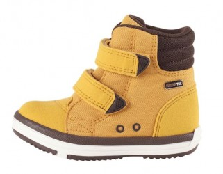 Alternativ til gummistøvler - med god støtte, ochre gul