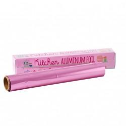 Alu folie fra RICE - Pink (10 meter)
