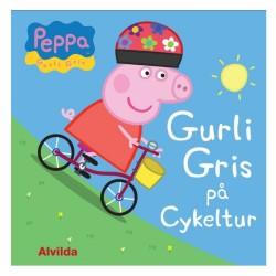 Alvilda Gurli Gris på cykeltur