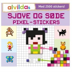 Alvildas Sjove og Søde Pixel Stickers