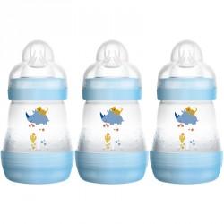 Anti-kolik sutteflasker fra MAM 160ml (3-pak) - Dreng