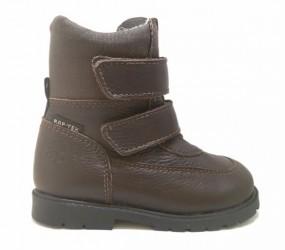 Arauto RAP klassiske velcro vinterstøvler, brun