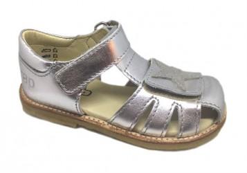 Arauto RAP pigesandal m/stjerne, sølv