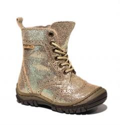 Arauto RAP vinterstøvler med snøre/lynlås, guld