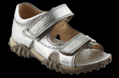 Arautorap (RAP) pige treckingsandal, sølv