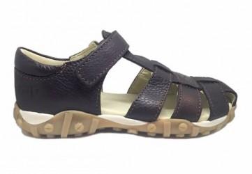 Arautorap (RAP) sandal med lukket hæl, brun