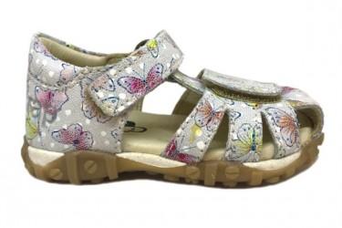 Arautorap (RAP) sandal med lukket hæl, Butterfly Hvid