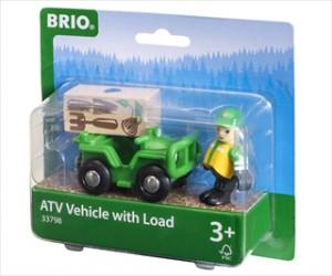 ATV m/trækasse - 33798 - BRIO Tog-tilbehør