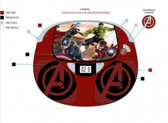 Avengers Boombox