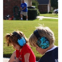 Baby Banz Høreværn - Caribbean Blue (2+)