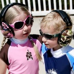 Baby Banz Høreværn - Pink Diva Camouflage (2+)