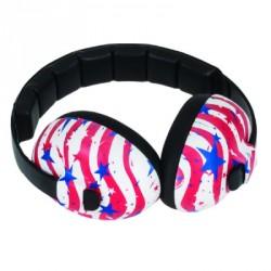 Baby Banz Høreværn - Stars & Stripes (3-24 mdr)
