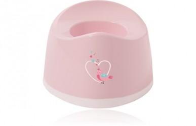 Baby Dan Sweet Birds Potte - Baby Pink