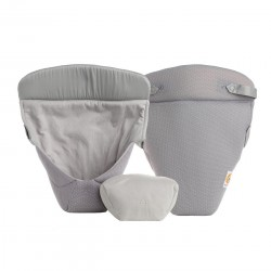 Baby indsats fra Ergobaby - Easy Snug - Cool Air - Grå