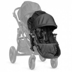 Baby Jogger City Select ekstra sæde - Sort
