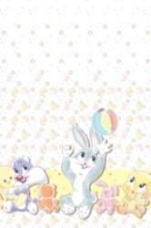 Baby Looney Tunes - Papirsdug 120 x 180 cm