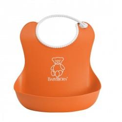 Babybjørn - Blød orange hagesmæk