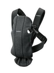 BabyBjörn Bæresele Mini, 3D Jersey, charcoal grå
