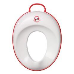 BABYBJÖRN Hvid/Rød Toiletsæde