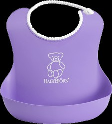 Babybjörn soft bib - Lilla