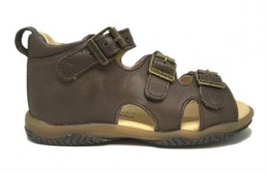 BabyBotte sandal Torvald, mørkebrun
