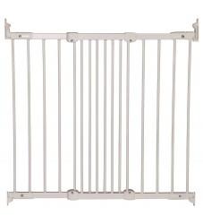 BabyDan Sikkerhedsgitter - FlexiFit - 67-105,5 cm - Hvid Metal