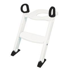 BabyDan Toilet Træner Med Trappe - Hvid